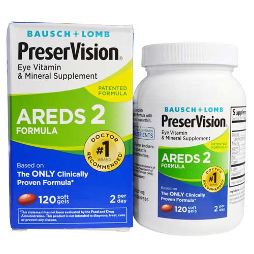 AREDS 2 PreserVision
