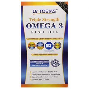 Omega 3 Fish Oil Dr. Tobias