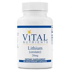 Lithium Orotate Vital Nutrients