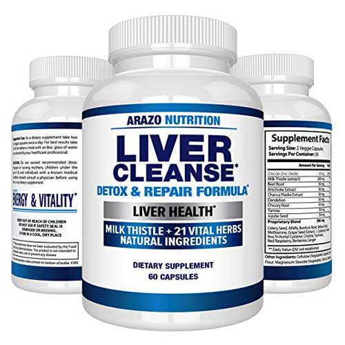 Liver Cleanse Arazo Nutrition