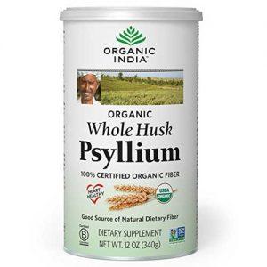 Whole Husk Psyllium Organic India